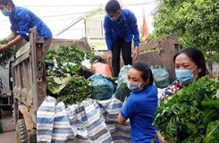 Đoàn viên, thanh niên tham gia phòng, chống dịch COVID-19
