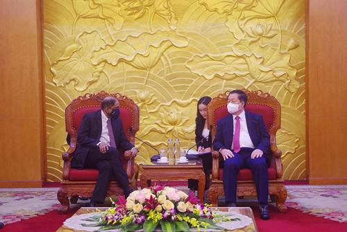 Tiếp tục củng cố, tăng cường hơn nữa quan hệ hợp tác Việt Nam – Singapore