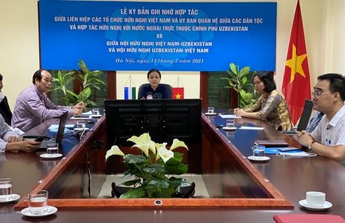 Tăng cường hợp tác giữa nhân dân hai nước Việt Nam và Uzbekistan