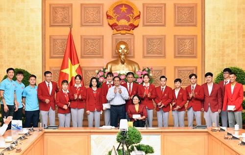 Thủ tướng mong các vận động viên Việt Nam thi đấu hết mình tại Olympic Tokyo 2020