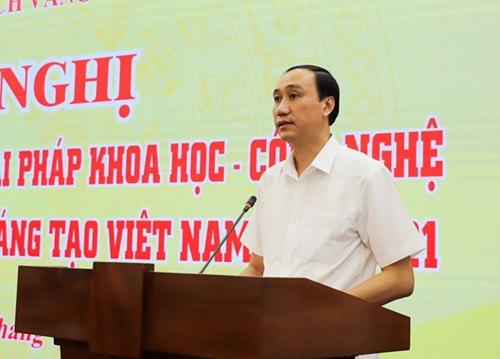 Công bố 76 công trình, giải pháp khoa học công nghệ trong Sách vàng Sáng tạo Việt Nam năm 2021