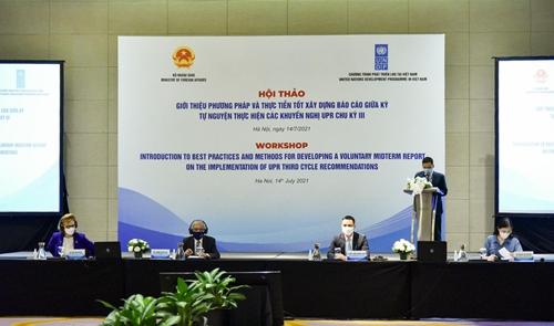 Việt Nam ủng hộ mạnh mẽ chủ nghĩa đa phương với vai trò trung tâm của Liên hợp quốc