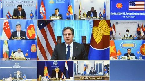 ASEAN và Hoa Kỳ cam kết tăng cường quan hệ đối tác