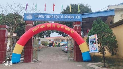 Trường THCS Đồng Liên Điểm sáng của ngành GD ĐT tỉnh Thái Nguyên