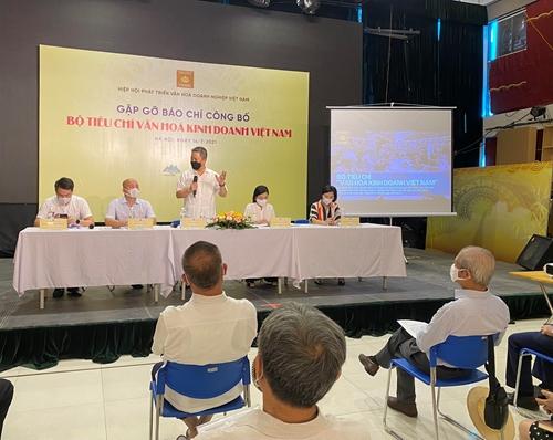 Công bố Bộ tiêu chí văn hóa kinh doanh Việt Nam