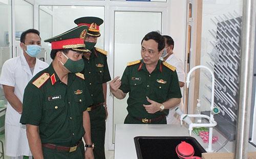 Quân khu 4 Sẵn sàng vận hành Hệ thống máy Realtime PCR0-7500