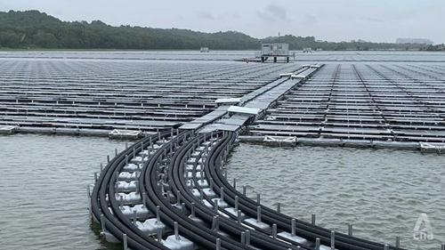 Singapore khánh thành nhà máy điện Mặt Trời nổi