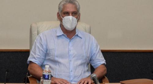 Cuba Chủ tịch Diaz-Canel kêu gọi nhân dân đoàn kết