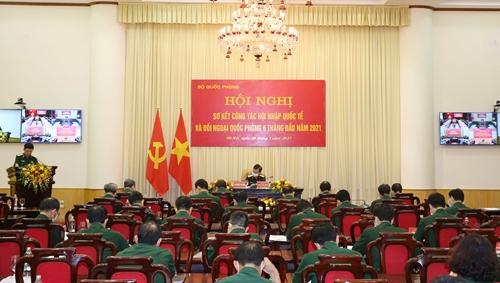 Tiếp tục đẩy mạnh công tác hội nhập quốc tế và đối ngoại quốc phòng