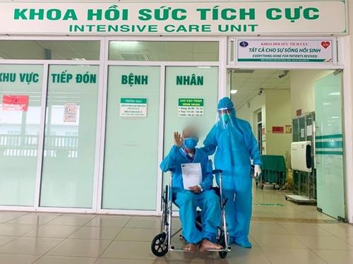 Tiêu chuẩn xuất viện với bệnh nhân dương tính với SARS-CoV-2