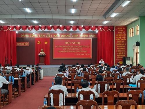 Huyện Vị Thủy Hậu Giang  Phấn đấu hoàn thành các chỉ tiêu phát triển kinh tế - xã hội