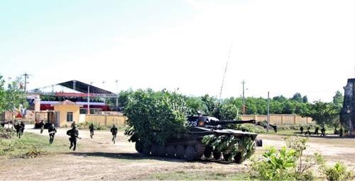 Đà Nẵng Hoàn thành tốt nhiệm vụ diễn tập khu vực phòng thủ năm 2021