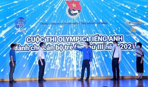 Lần thứ ba tổ chức thi Olympic tiếng Anh cho cán bộ trẻ