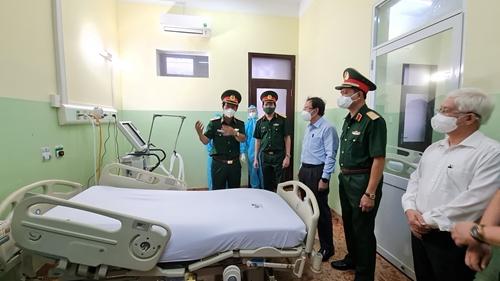 Bệnh viện Quân y 175 thành lập trung tâm điều trị COVID-19 vừa và nặng