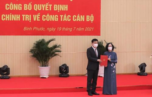 Đồng chí Nguyễn Mạnh Cường giữ chức Bí thư Tỉnh ủy Bình Phước
