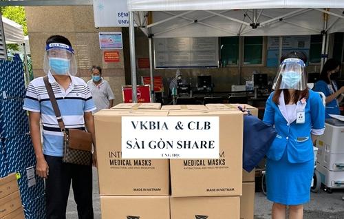 """VKBIA và """"Saigon Share"""" tiếp tục chung tay phòng, chống dịch tại TP Hồ Chí Minh"""