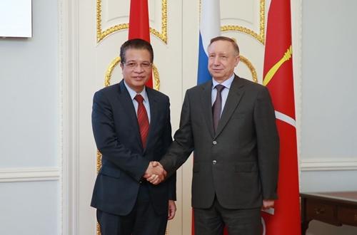 St Petersburg thúc đẩy hợp tác toàn diện với các địa phương Việt Nam