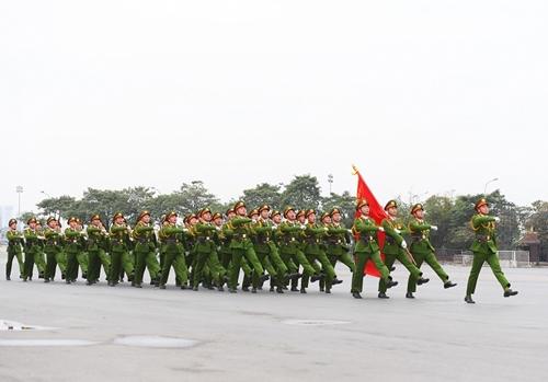 Xây dựng lực lượng CSND trong sạch, vững mạnh đáp ứng yêu cầu, nhiệm vụ trong tình hình mới