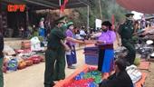 Bộ đội Biên phòng tỉnh Hà Giang làm nhiệm vụ trên chốt chống dịch vùng biên giới