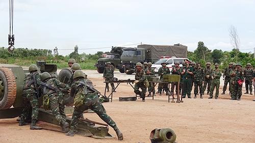 Lính thợ quân khí sẵn sàng cho Hội thao quân sự quốc tế 2021