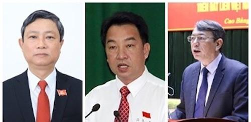 Phê chuẩn Chủ tịch, Phó Chủ tịch UBND 3 tỉnh Bình Dương, Vĩnh Long, Cao Bằng