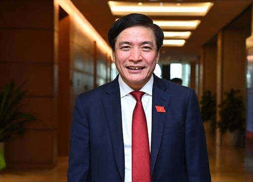 Ông Bùi Văn Cường được bầu giữ chức Tổng thư ký Quốc hội với số phiếu tuyệt đối