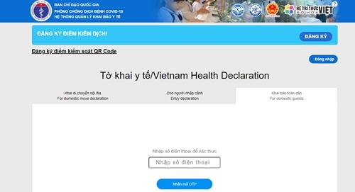 Chủ tịch TP Hà Nội kêu gọi người dân thực hiện khai báo y tế thường xuyên