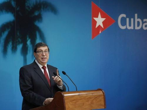 Ngoại trưởng Cuba lên án các lệnh trừng phạt mới của Mỹ