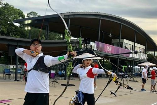 Olympic Tokyo 2021 Ánh Nguyệt, Phi Vũ lỡ cơ hội tranh đôi hỗn hợp tại môn bắn cung