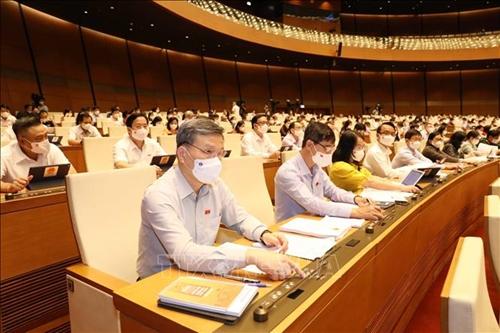 Quốc hội thông qua cơ cấu tổ chức Chính phủ nhiệm kỳ 2021-2026