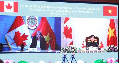 Thúc đẩy quan hệ hợp tác quốc phòng Việt Nam - Canada