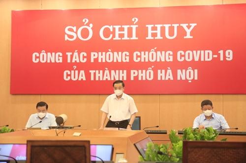 Chủ tịch UBND TP Hà Nội Xử phạt nghiêm vi phạm trong phòng, chống dịch