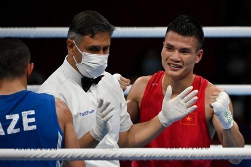 Võ sĩ Nguyễn Văn Đương có trận thắng lịch sử tại Olympic Tokyo 2020