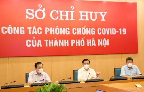 Bí thư Thành ủy Hà Nội Đinh Tiến Dũng Kỷ luật chính là sức mạnh hiệu quả trong phòng, chống dịch