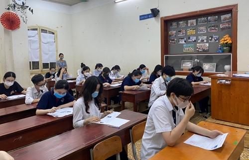 Công bố phổ điểm các môn thi tốt nghiệp THPT năm 2021, đợt 1