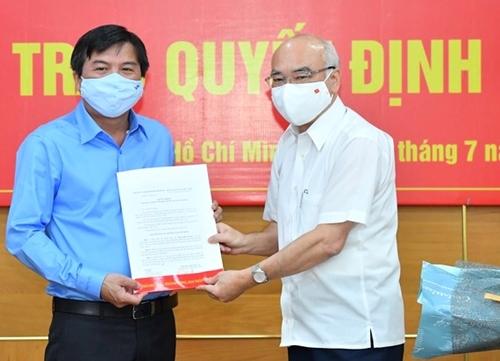 Đồng chí Tăng Hữu Phong giữ chức vụ Tổng Biên tập Báo Sài Gòn Giải Phóng