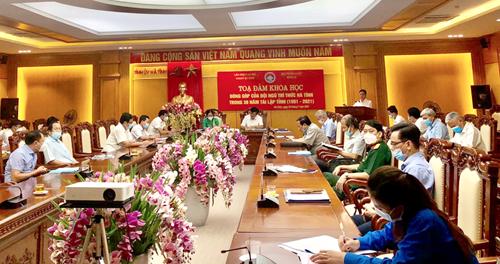 Đội ngũ trí thức đóng góp quan trọng vào quá trình phát triển của Hà Tĩnh