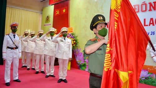 Công an tỉnh Bắc Giang đón nhận Huân chương Lao động hạng Ba