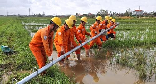 Điện lực miền Trung chủ động phòng, chống thiên tai trong mùa mưa bão