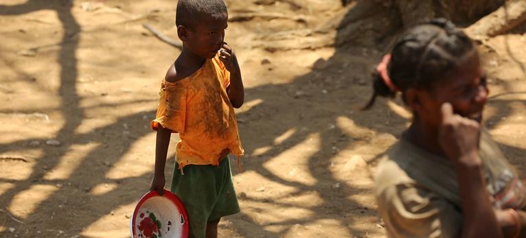 Madagascar Báo động tình trạng suy dinh dưỡng ở trẻ em