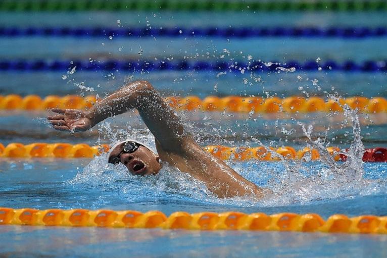 Huy Hoàng dừng bước ở vòng loại 800m tự do