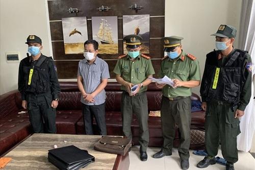 Khởi tố Chánh Văn phòng Cảng hàng không Quốc tế Phú Bài