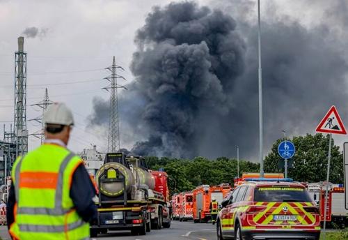 Nhiều thương vong trong vụ nổ cơ sở hóa chất ở Đức