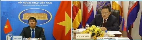 Xây dựng đường biên giới Việt Nam - Campuchia hòa bình, ổn định, hữu nghi