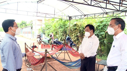 Bình Phước Đẩy mạnh công tác phòng, chống dịch bệnh COVID-19