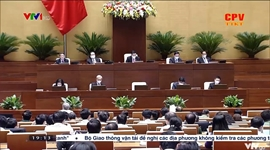 Quốc hội thảo luận về kế hoạch đầu tư công trung hạn
