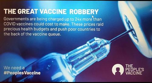 Cần kiểm soát giá vaccine về giá gốc, tránh đẩy giá quá cao