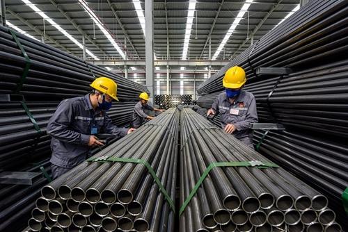 Xuất khẩu sắt thép tăng 113,3 về trị giá so với cùng kỳ