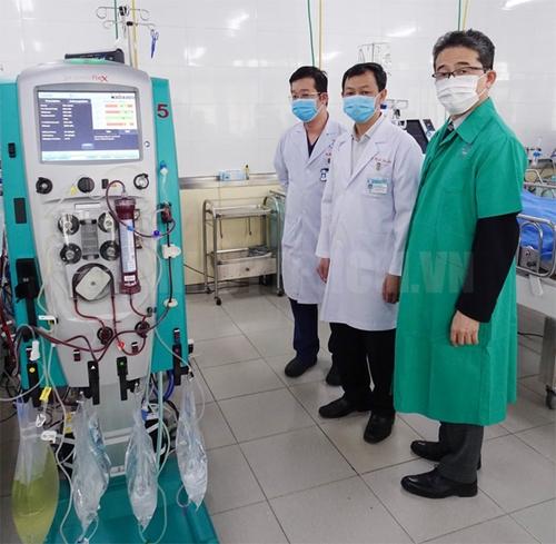 JICA cung cấp trang thiết bị y tế để điều trị bệnh nhân COVID-19