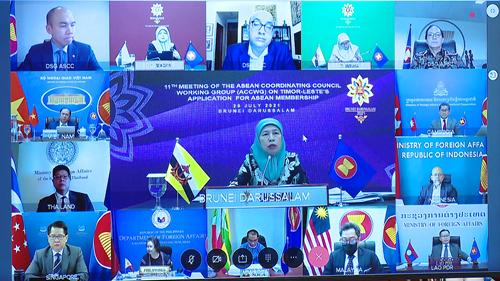 Cuộc họp lần thứ 11 về việc Timor Leste xin gia nhập ASEAN